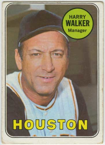 1969 Topps Harry Walker