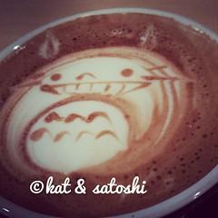 hub's cappuccino @ bar ista