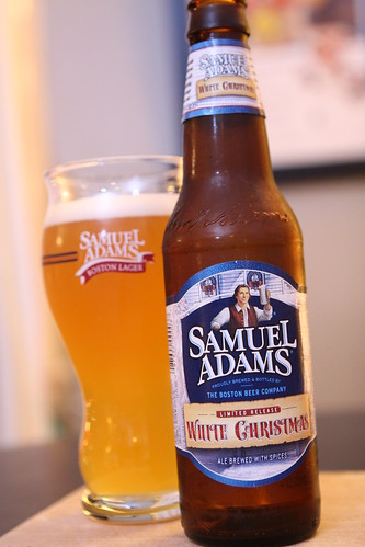 Sam Adams White Christmas Ale