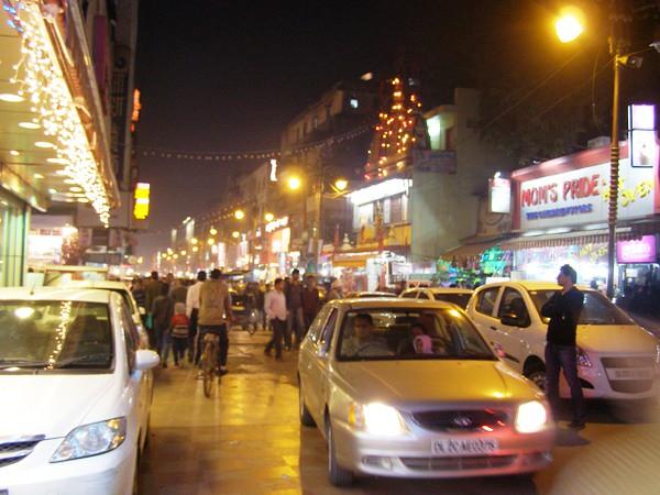 Сумасшедший город Дели
