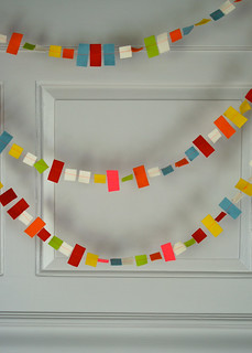 Molly's Sketchbook: Confetti New Year's Garland