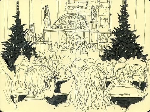 katedralskolens juleafslutning