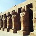 Mummy statues at Karnak Temple, Luxor, Egypt