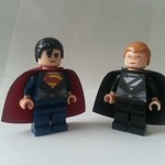 Superman and Zod