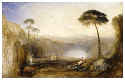 011-La rama dorada-1834- pintura al oleo-J. M. W. Turner-via tate.org.uk