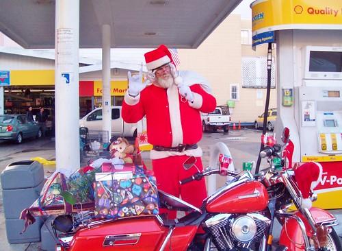 Santa by karaokegal