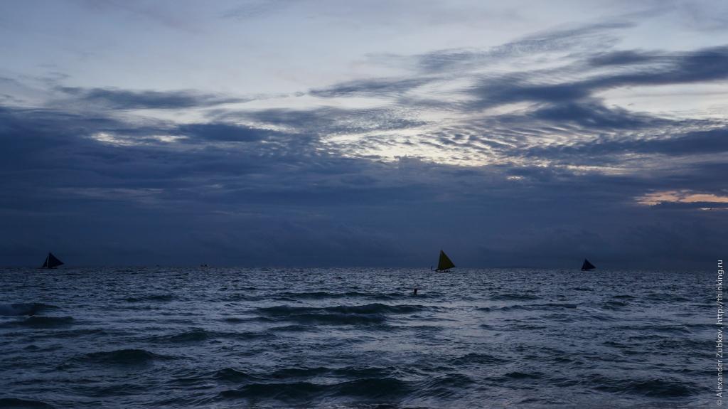 Океан на острове Боракай