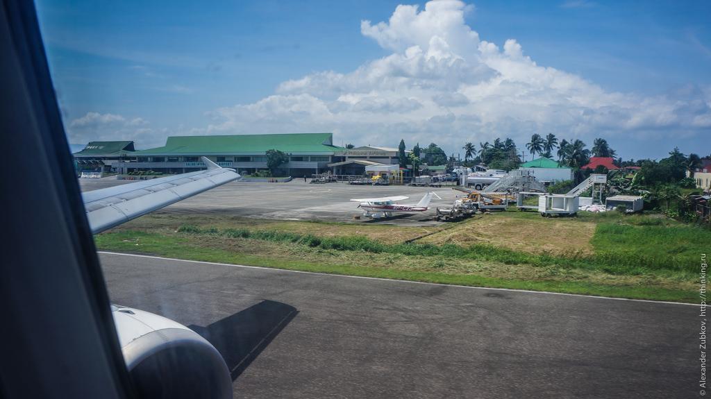 Аэропорт Калибо на Филиппинах