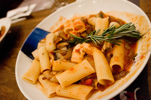 Zizzi's pasta
