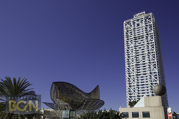 Peixe, Frank Gehry, Barcelona