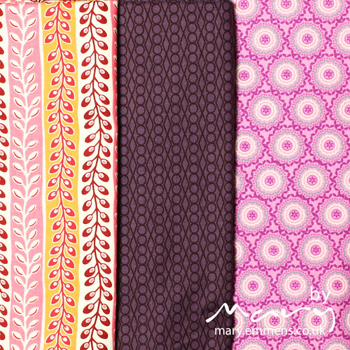 Stash fabrics from 'Stash Modern Fabrics'