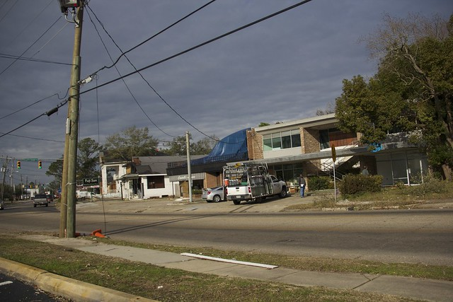 Tornado Damage in Mobile