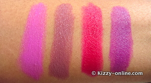 MAC Cosmetics Glamour Daze Apres Chic Strength December Collection Collections 2012 Holiday Spring Lipstick Lipsticks Limited Edition Strong Woman Swatch Swatches