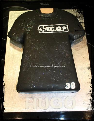 Bolo T-Shirt TCOP by Osbolosdasmanas