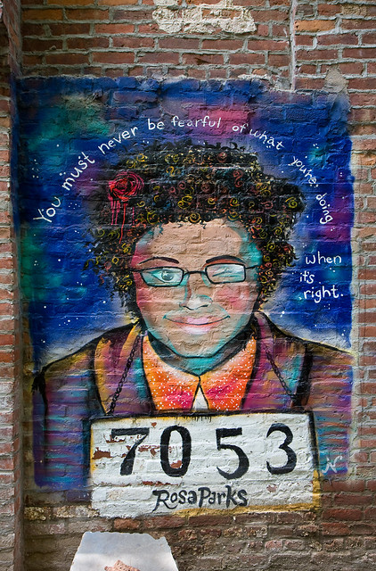 Rosa Parks, Lower East Side Girls Club Garden