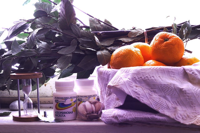 tangerines&vitamins