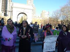 12/28/12 - IDLE NO MORE/FLASH MOB ROUND DANCE