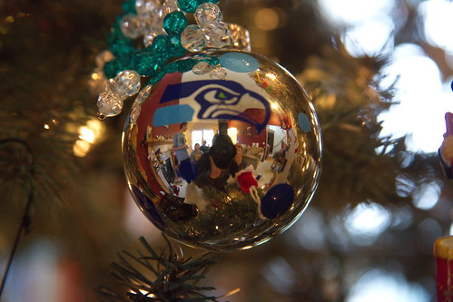 Seahawks on the ball by The Bacher Family
