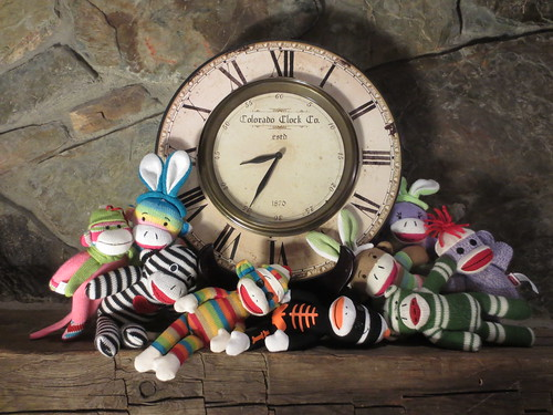 Sock Monkeys Don't Think They Can Wait Until Midnight