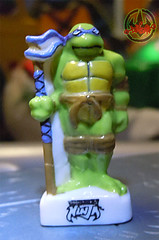 PRIME :: TORTUES NINJA  porcelain miniature prototypes xiii / DONATELLO - A (( 2009 ))