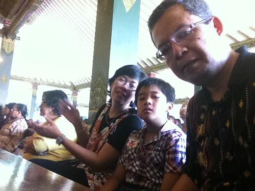 Misa di Gereja Katolik Ganjuran, Bantul, Yogyakarta