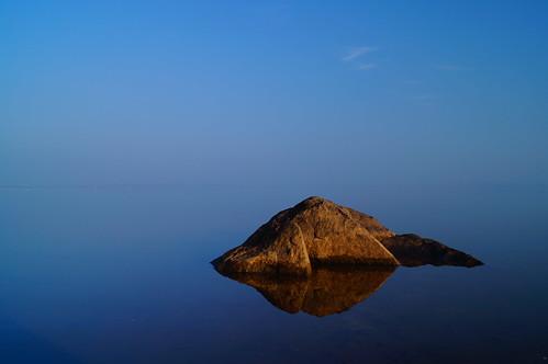 morning blue sunset sky india reflection water fog stone sunrise landscape dawn sony january alpha dslr hyderabad polarizer chilkur 2013 telangana a37 mrigank alpha37 newjerseytnc10 sonya37 sonyalphaa37 yahoo:yourpictures=byroyalappointment mrigankgupta yahoo:yourpictures=space yahoo:yourpictures=coastal flickr12days yahoo:yourpictures=bestof2013