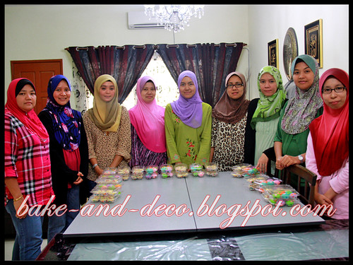 Baking Class: Apam Polkadot & Blueberry Cheese Tart ~ 17 June 2012