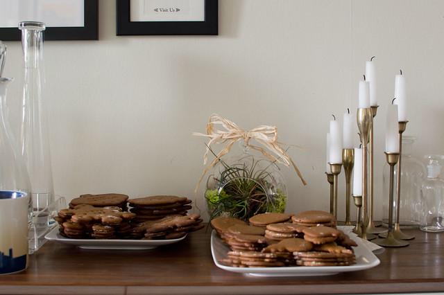 gingerbread, terrarium