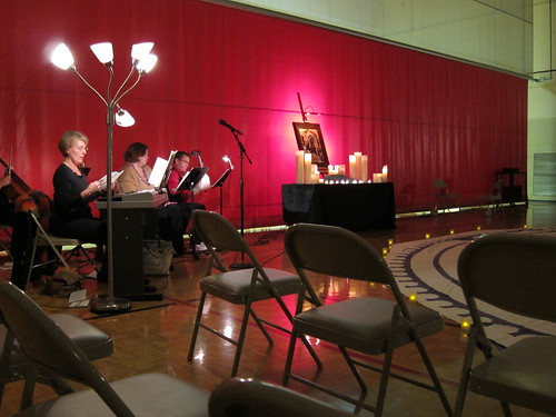 New Year's Eve Taize Service and Labyrinth