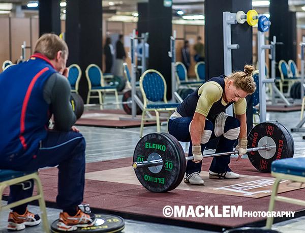 Slivenko RUS 69kg weightlifter