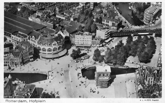 Hofplein Luchtfoto