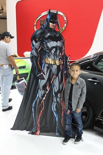 Duke at LA Auto Show