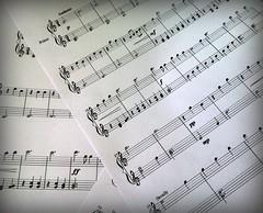 sheet music, pattern, text, music, line, font,