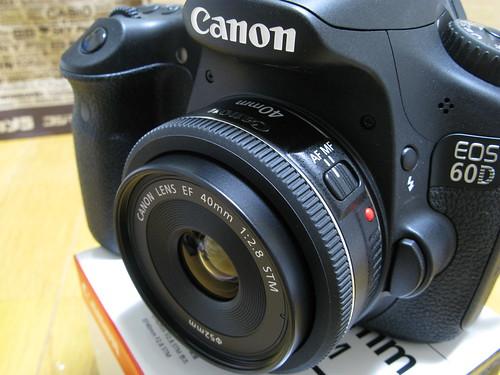 EF40mm F2.8 STM + EOS 60D