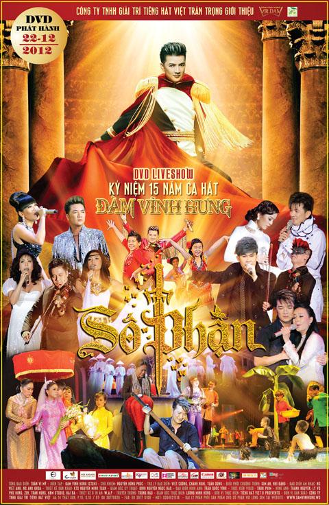 Đàm Vĩnh Hưng   Số Phận (2012) (3 DVD) [Liveshow]