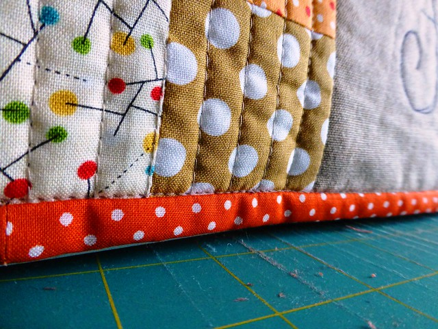 Sewing Machine Cover for Hector!