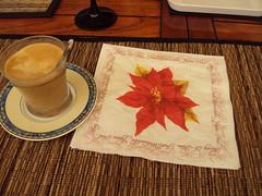 Cafe, leche y azucar