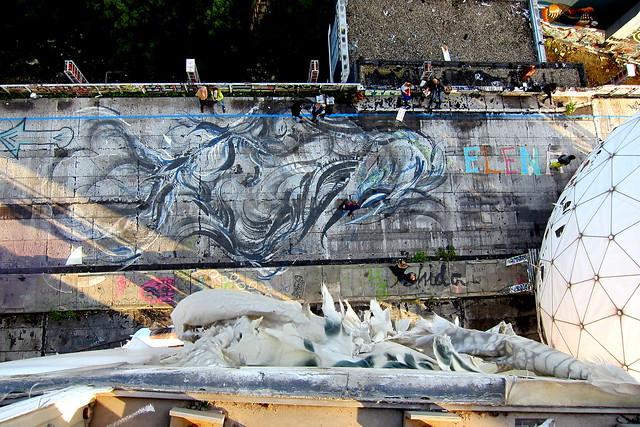graffiti   shida   teufelsberg . berlin 2012