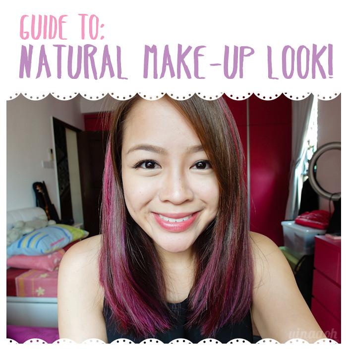 Guide to Natural Make-Up Look!