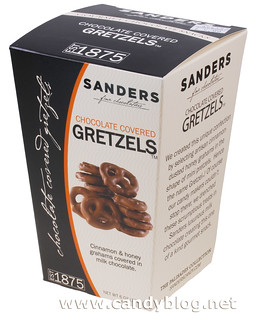 Sanders Chocolate Covered Gretzels