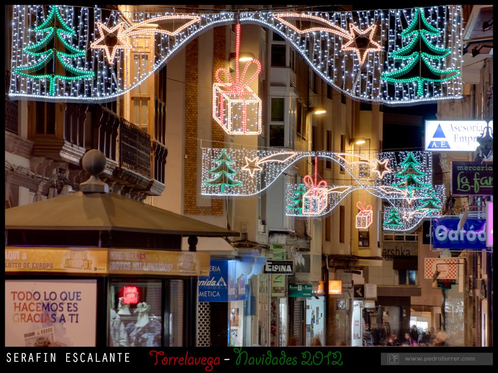 Navidades Torrelavega 2012 - Serafin Escalante