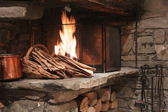 wood, fireplace, forge, iron, hearth,