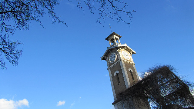 The belfry of Parc George-Brassens