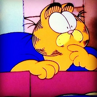 Day8 been watching old school Garfield on Netflix every night :) 1.8.13