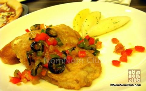 Pan Fried Fish ala Vera Cruz