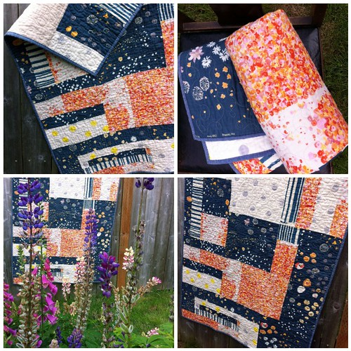 Improv Japanese Cotton Quilt