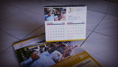 Kalender Raya Insurance 2013