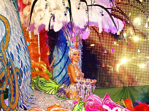 Carnival Queen Contestant, Santa Cruz, Tenerife