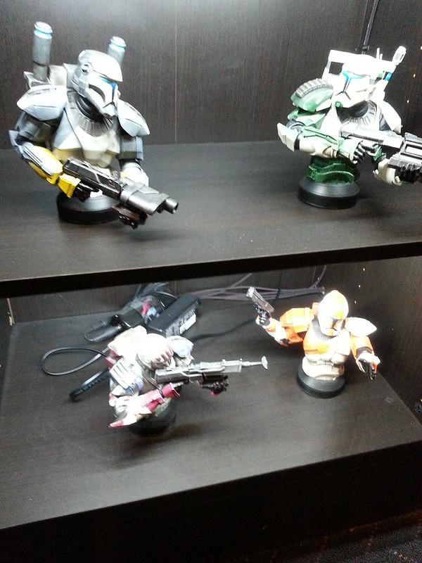 Republic Commando Maquettes