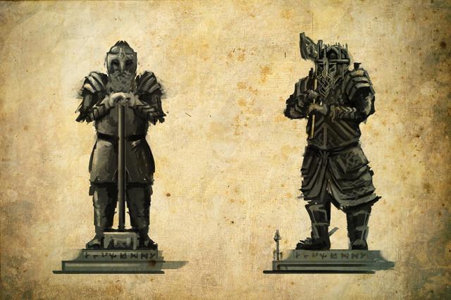 Erebor Statue1